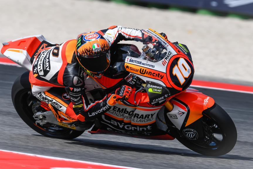 Luca Marini, Forward Racing Team, Gran Premio Tribul Mastercard di San Marino e della Riviera di Rimini