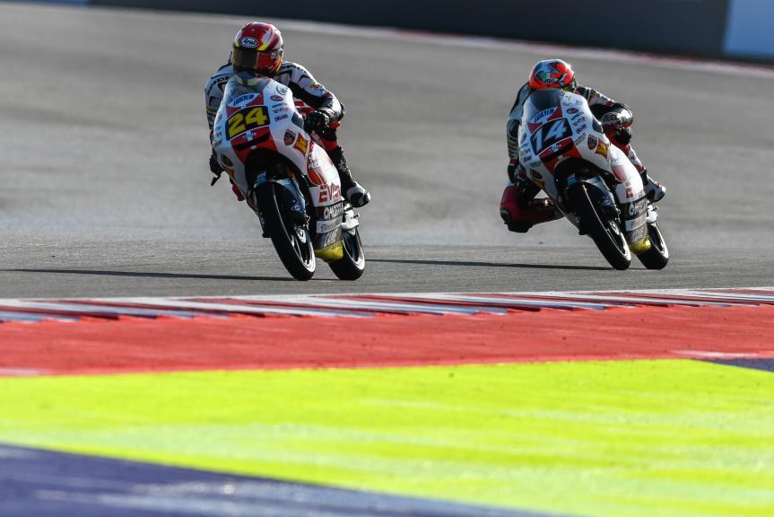 Tatsuki Suzuki, Tony Arbolino, SIC58 Squadra Corse, Gran Premio Tribul Mastercard di San Marino e della Riviera di Rimini