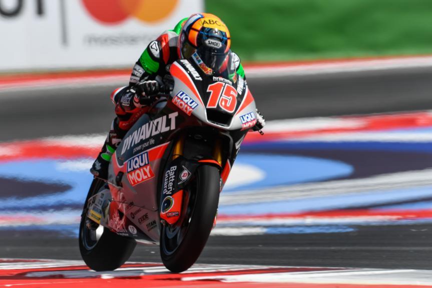 Alex de Angelis, Tasca Racing Scuderia Moto2, Gran Premio Tribul Mastercard di San Marino e della Riviera di Rimini