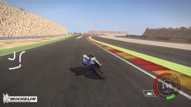 The fight for the Title continues with the talents of Valentino Rossi to be used by gamers worldwide to tackle the fast and technical Spanish circuit of MotorLand, Aragon.