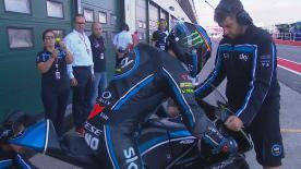 All the action from the first Free Practice session of the Moto3™ World Championship at the #SanMarinoGP.