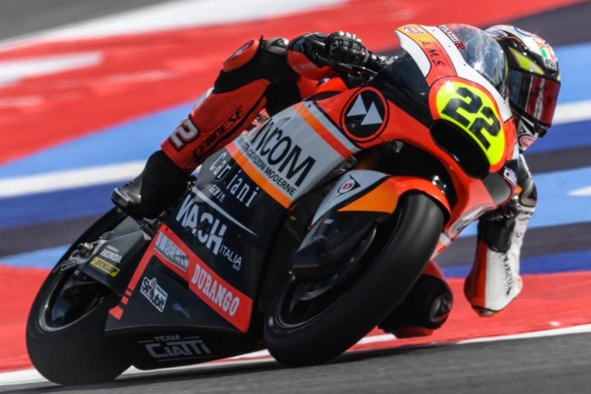 Federico Fulgini, Kiefer Racing, Gran Premio Tribul Mastercard di San Marino e della Riviera di Rimini