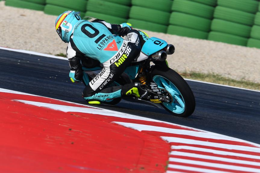 Joan Mir, Leopard Racing, Gran Premio Tribul Mastercard di San Marino e della Riviera di Rimini