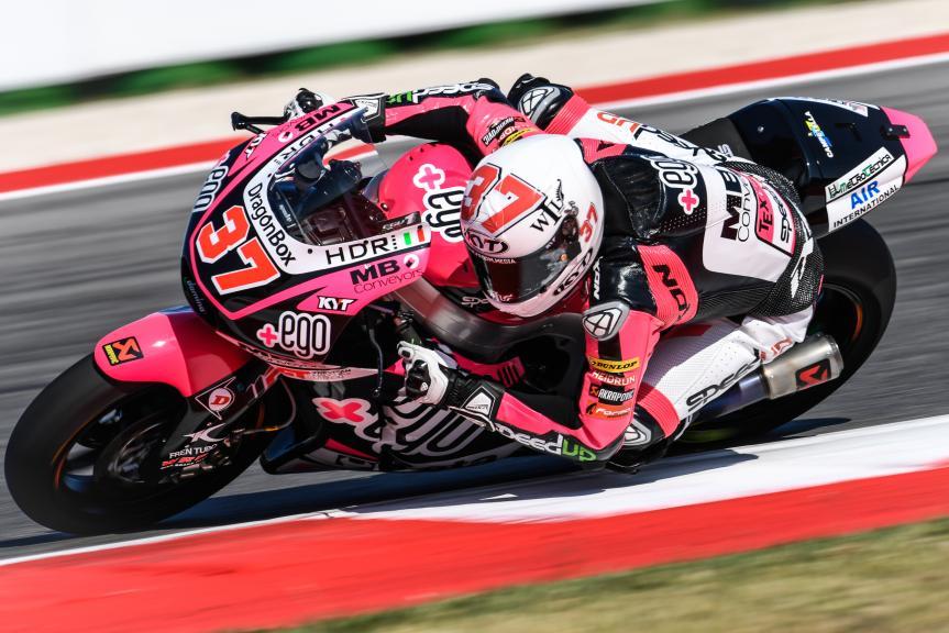 Iker Lecuona, Garage Plus Interwetten, Gran Premio Tribul Mastercard di San Marino e della Riviera di Rimini