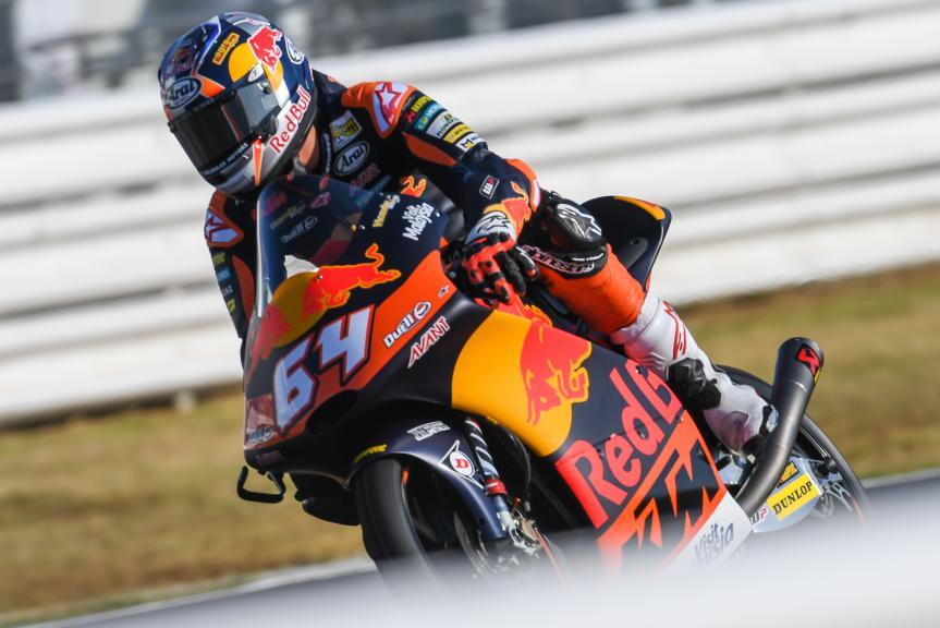 Bo Bendsneyder, Red Bull KTM Ajo, Gran Premio Tribul Mastercard di San Marino e della Riviera di Rimini