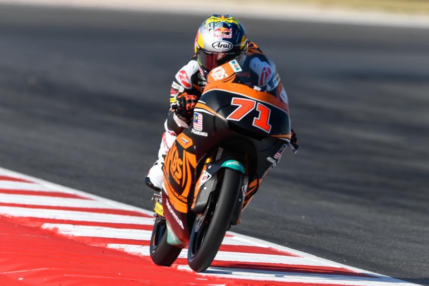 Ayumu Sasaki, SIC Racing Team, Gran Premio Tribul Mastercard di San Marino e della Riviera di Rimini