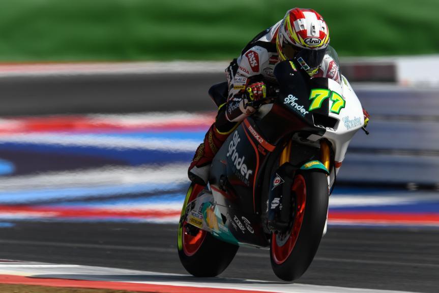 Dominique Aegerter, Kiefer Racing, Gran Premio Tribul Mastercard di San Marino e della Riviera di Rimini