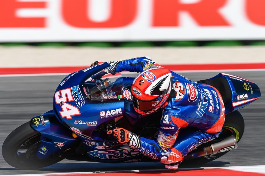 Mattia Pasini, Italtrans Racing Team, Gran Premio Tribul Mastercard di San Marino e della Riviera di Rimini