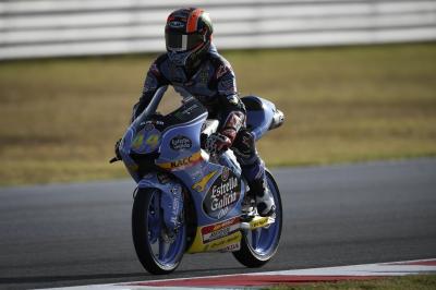 Canet lidera la FP1 con la pista secándose