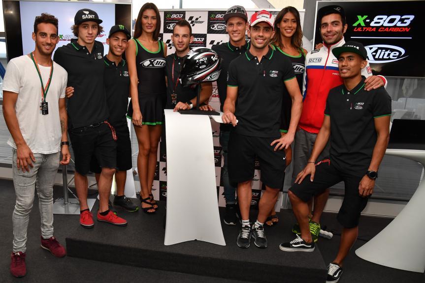 Nolan X-Lite MotoGP helmet