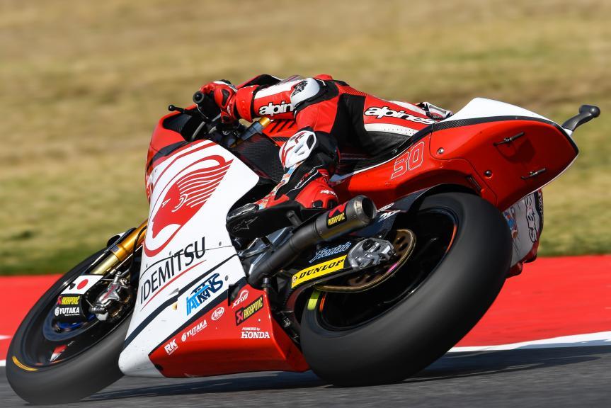 Takaaki Nakagami, Idemitsu Honda Team Asia, Gran Premio Tribul Mastercard di San Marino e della Riviera di Rimini