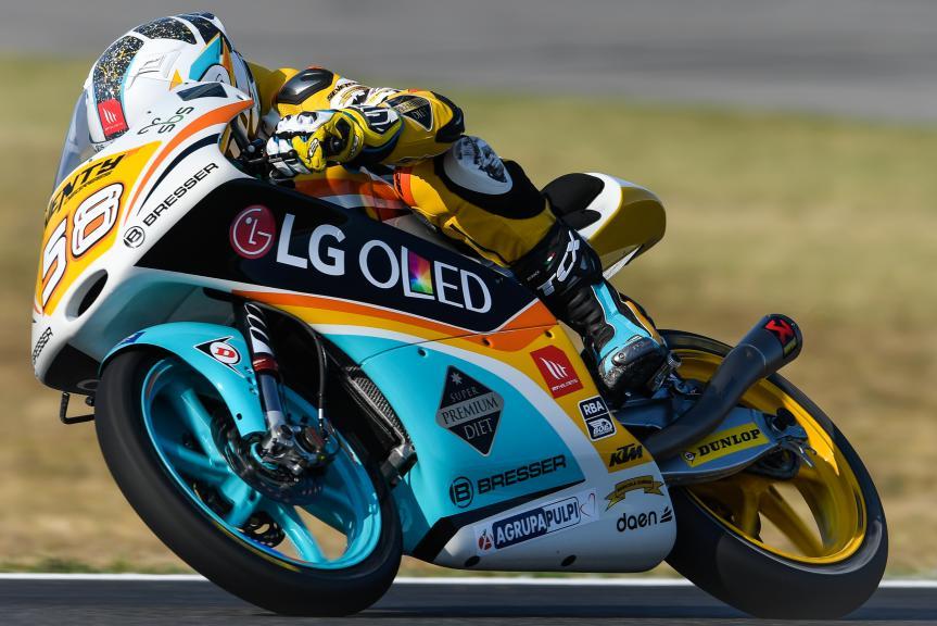 Juanfran Guevara, RBA BOE Racing Team, Gran Premio Tribul Mastercard di San Marino e della Riviera di Rimini