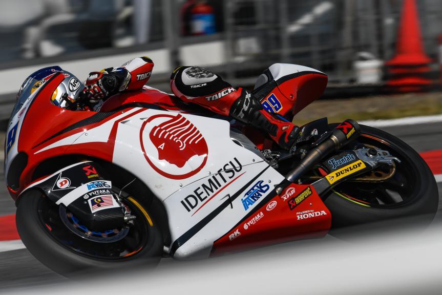 Khairul Idham Pawi, Idemitsu Honda Team Asia, Gran Premio Tribul Mastercard di San Marino e della Riviera di Rimini