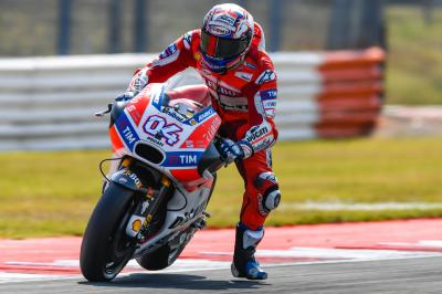 "Dovizioso on race pace: ""We can fight"""