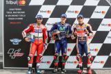 Maverick Viñales, Andrea Dovizioso, Marc Marquez, Gran Premio Tribul Mastercard di San Marino e della Riviera di Rimini