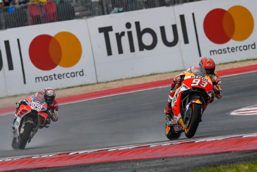 Andrea Dovizioso, Marc Marquez, Gran Premio Tribul Mastercard di San Marino e della Riviera di Rimini