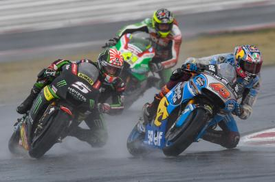 """Miller slices through to P6 at """"mentally draining"""" Misano"""
