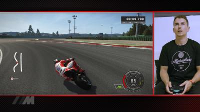 Learn the track - a lap of Misano with Lorenzo on MotoGP™17