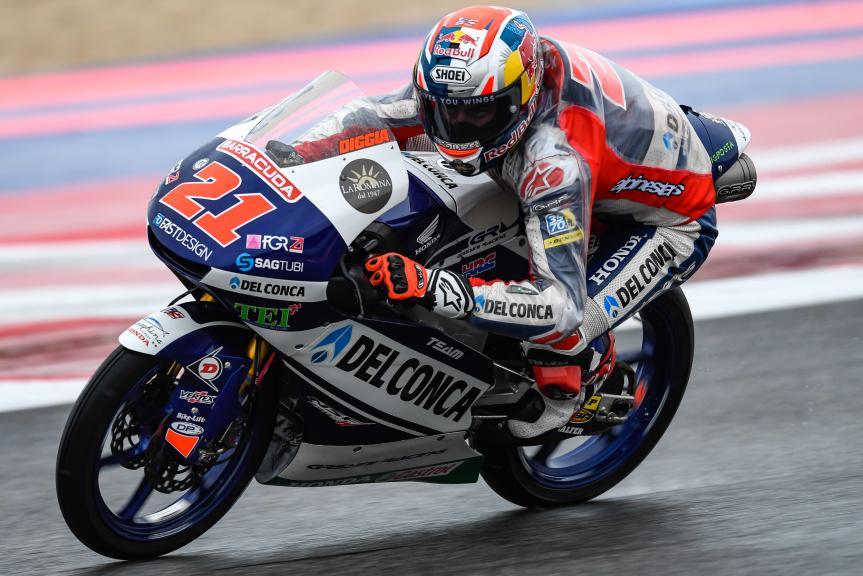 Fabio Di Giannantonio, Del Conca Gresini Moto3, Gran Premio Tribul Mastercard di San Marino e della Riviera di Rimini
