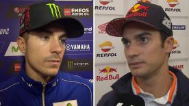 MotoGP™ riders give us feedback on their race results at the #SanMarinoGP.