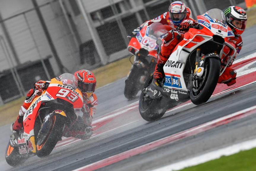 Jorge Lorenzo, Marc Marquez, Gran Premio Tribul Mastercard di San Marino e della Riviera di Rimini