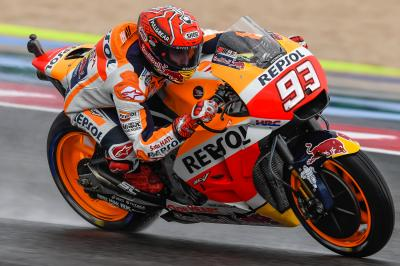 "Marquez: ""You can't imagine the tension and focus"""