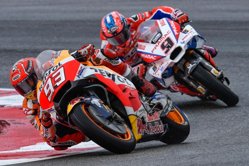 Marc Marquez, Danilo Petrucci, Gran Premio Tribul Mastercard di San Marino e della Riviera di Rimini