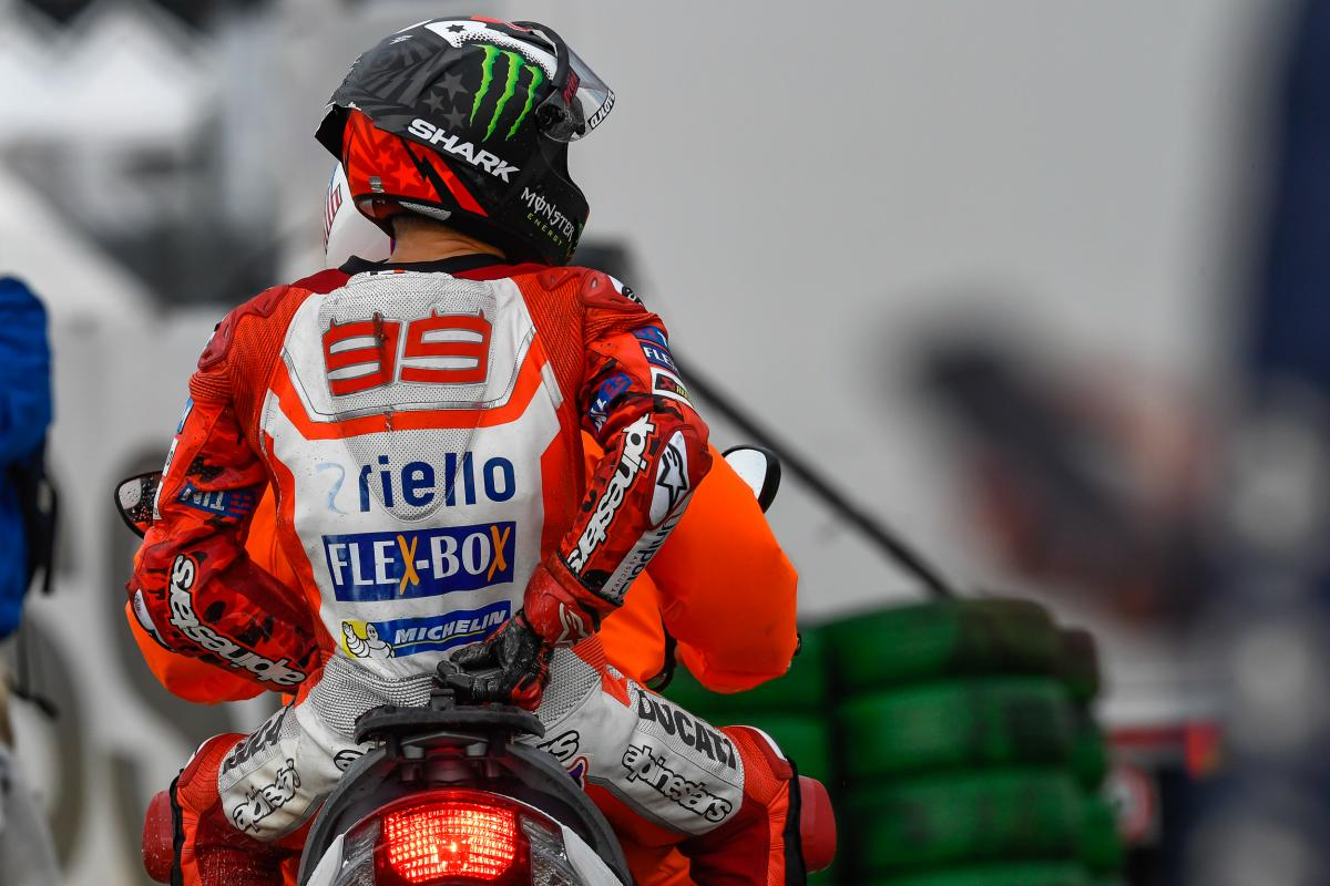 "Lorenzo: ""I wasn't slow but I wasn't risking so much…"" | MotoGP™"