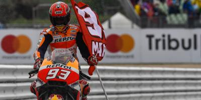 Raising the stakes: fearless Marquez equalises at Misano
