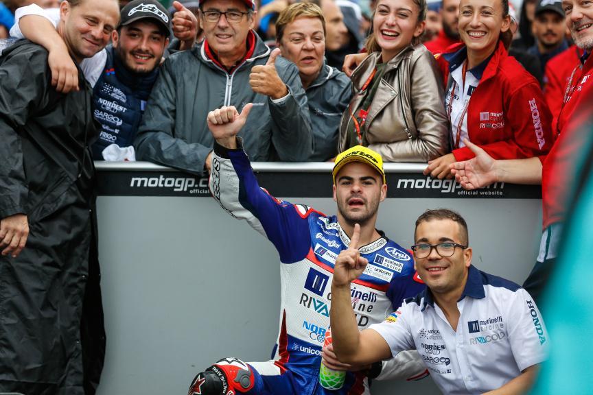 Romano Fenati, Marinelli Rivacold Snipers, Gran Premio Tribul Mastercard di San Marino e della Riviera di Rimini