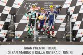 Romano Fenati, Joan Mir, Fabio Di Giannantonio, Gran Premio Tribul Mastercard di San Marino e della Riviera di Rimini