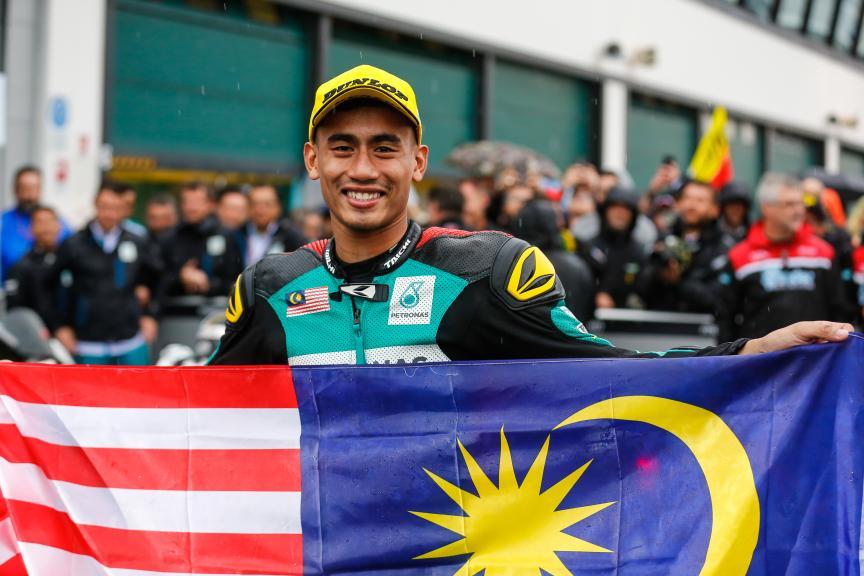 Hafizh Syahrin, Petronas Raceline Malaysia, Gran Premio Tribul Mastercard di San Marino e della Riviera di Rimini