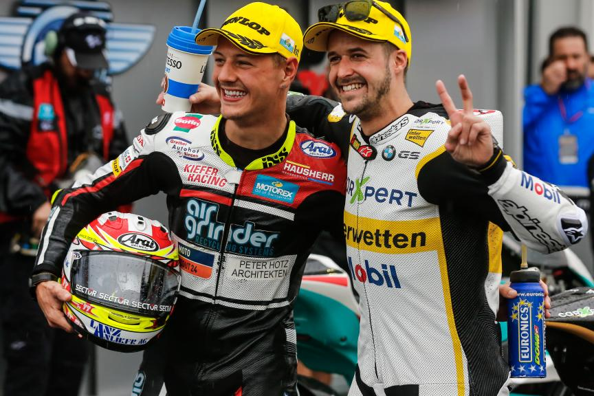 Thomas Luthi, Dominique Aegerter, Gran Premio Tribul Mastercard di San Marino e della Riviera di Rimini