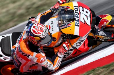 "Pedrosa: tyre temperature woes made Misano like ""ice"""