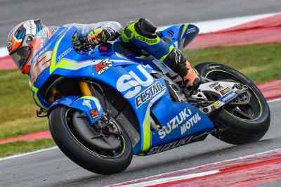Rins top rookie at Misano