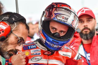 Dovizioso a Gazzetta: 'Entiendo cómo se vive siendo Rossi'