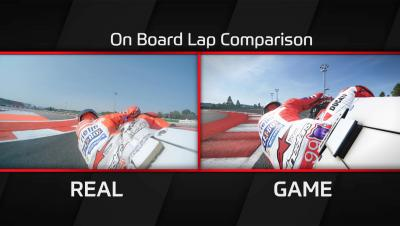 Lorenzo Comparison lap – MotoGP™17 game vs MotoGP™ real