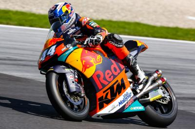 Red Bull KTM Ajo Moto2™ prepare for last leg of the season