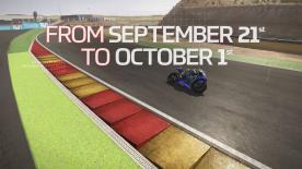 The penultimate challenge period to qualify for the MotoGP™ eSports Grand Final begins NOW! Pre-set Dry conditions at the MotorLand Circuit, Aragón, combined with the limitless talents of Valentino Rossi and the factory Yamaha