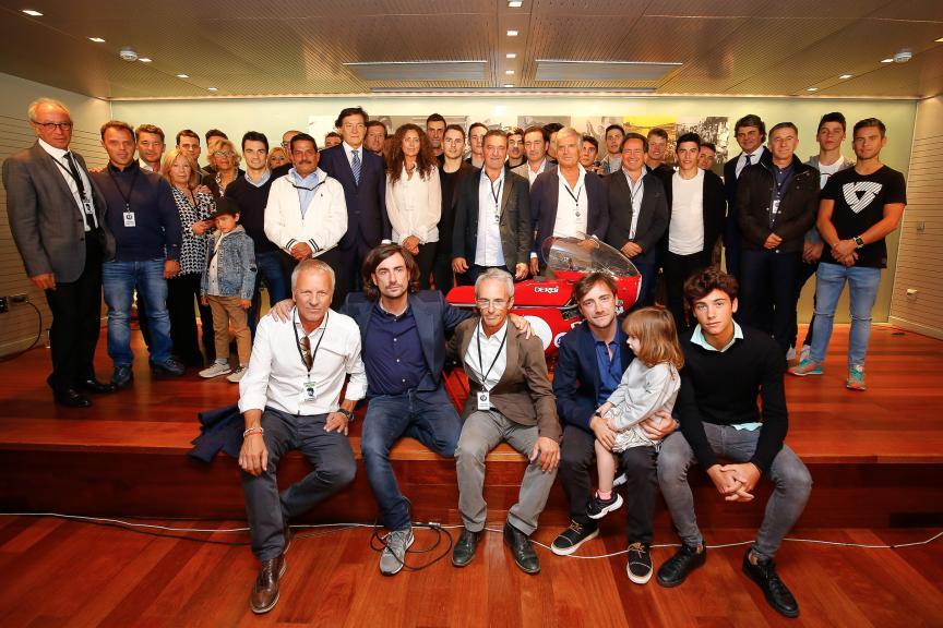 Tribute in memory of the 12+1 World Champion, Ángel Nieto