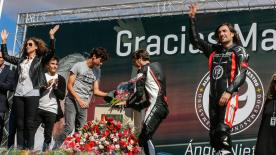 Family, friends, riders and fans gathered in Madrid on September 16th to pay tribute to 12+1 World Champion and MotoGP™ Legend, Angel Nieto