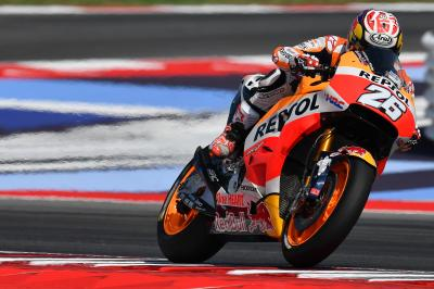 Pedrosa: 'I hope I can battle for the podium'