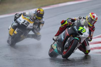 "Aegerter: ""The last laps lasted an eternity"""
