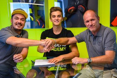 Marini e Foggia con lo Sky Team nel 2018