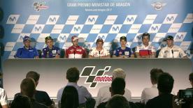 Everything you need to know from the official opening press conference at the #AragonGP.