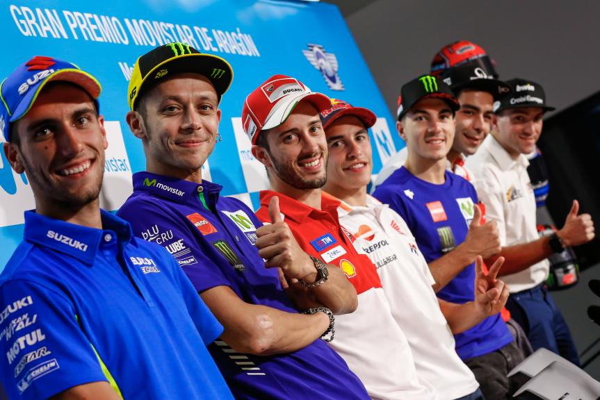 Press-Conference, Gran Premio Movistar de Aragón
