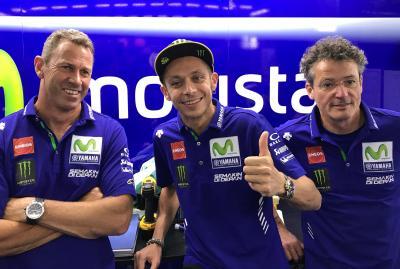 Rossi, declarado 'Apto' para correr