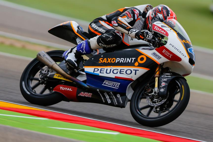 Patrik Pulkkinen, Peugeot MC Saxoprint, Gran Premio Movistar de Aragón