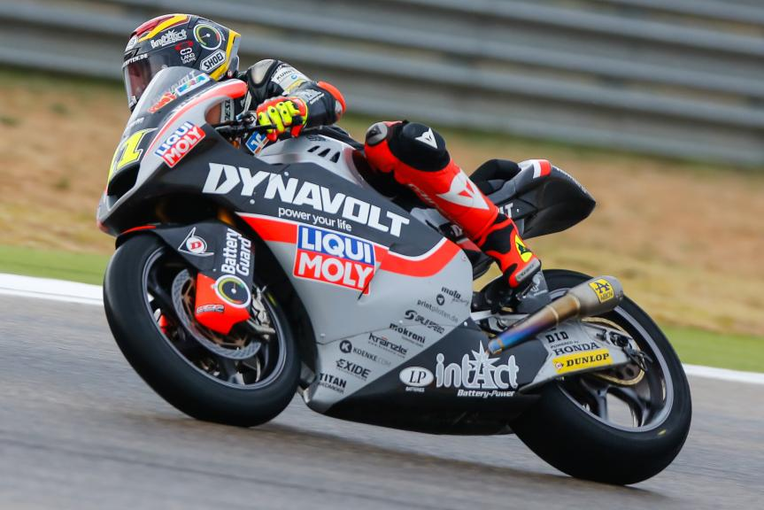 Sandro Cortese, Dynavolt Intact GP, Gran Premio Movistar de Aragón