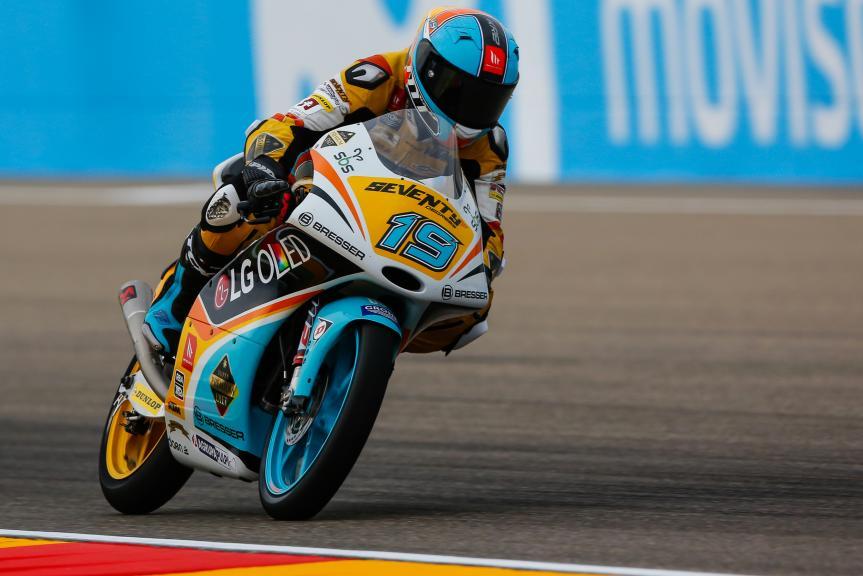 Gabriel Rodrigo, RBA BOE Racing Team, Gran Premio Movistar de Aragón